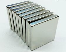 2/4/6Pcs Square Strong Rare Earth Neodymium Magnets N35 30mmx30mmx5mm Powerful