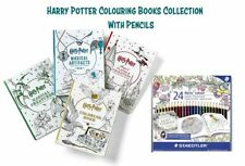 Harry Potter,Harry Potter Magical Creatures and Magical Places Colouring Books