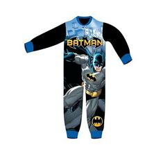 NEW WITH TAG DC COMICS BATMAN FLEECE ONESIE, SIZE 3 TO 8 YEARS