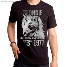 Blondie T-Shirt / Blondie Band Poster, New York City,1977,Retro New,Men's Tee