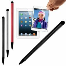 2 in1 Touch Screen Capacitive Pen Stylus For iPhone Samsung iPad Tablet Phone PC
