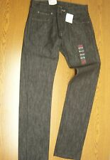 NWT Levis mens jeans 511 skinny extra slim fit straight leg gray black 29x30