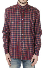GILD Collection New men Sleeved Checked Shirt 100% Cotton Authentic