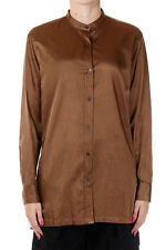 DRIES VAN NOTEN New Woman Brown CALYBE Cotton blend Shirt Blouse NWT