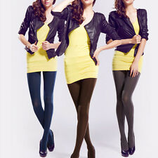 Sexy Women's Opaque Footed Tights Pantyhose Stockings Girls Socks 14 Colours