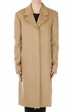 JIL SANDER New woman Beige Cashmere Virgin wool coat Made in italy NWT original