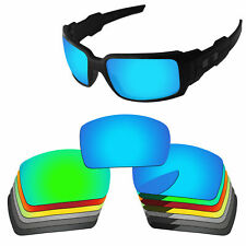 PapaViva Polarized Replacement Lenses For-Oakley Oil Drum Multi-Options