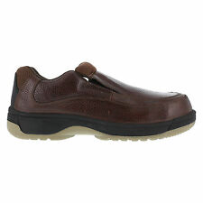 Florsheim Womens Dark Brown Leather Casual Oxford Lucky Steel Toe