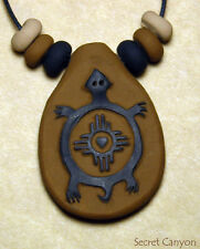 TURTLE Symbol Rock Art Petroglyph Charm Earth Mimbres Desert Power Native Tribal