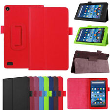 Leather Case Stand Cover Case For Amazon Kindle Fire HD 7'' inch 2015 Tablet PC