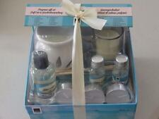 ARTI CASA OIL BURNER AND CANDLE FRAGRANCE GIFT SET BLUE WATER