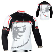 New Sports Wear Cycling Jersey Bike Bicycle Clothing Long Sleeve Shirts Race Fit