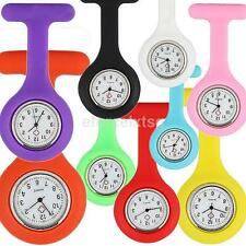 Popular Silicone Nurse Brooch Tunic Fob Watch Nursing Pendant Pocket Watches