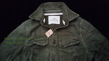 Abercrombie & Fitch Hollister Co. vintage military casual shirts NWT authentic