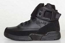 Ewing Athletics 33 Hi Triple Black Leather Patrick Ewing Blackout Sneakers