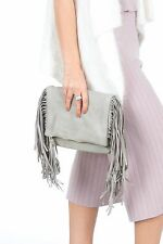 Bag Fringes Women Top Handle Satchel Handbags Tote Purse Shoulder Messenger New