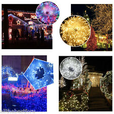 Waterproof 100M 500LED String Fairy Light  Wedding Party Tree Garden Room Decor