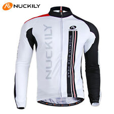 Long Sleeve Men Cycling Jersey Coolmax Team Mtb Bike Bicycle Ciclismo Jersey Top