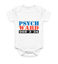 Psych Ward Funny Halloween Costume Outfit Vest Baby Grow Bodysuit Infant