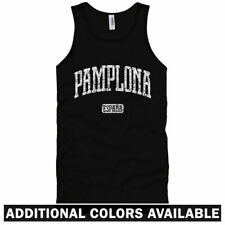 Pamplona Spain Unisex Tank Top - Men Women XS-2X - Gift España Tourism Bulls Run