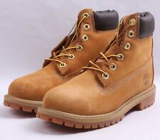 "Timberland 6"" Premium Construction Boots GS # TB0 12909 Wheat Big Kid SZ 4 - 7"