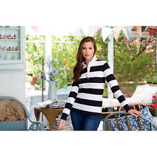 Front Row Sleeve Long Top Ladies Striped Rugby Shirt Womens Cotton Stripe Shirts