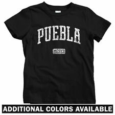 Puebla Mexico Kids T-shirt - Baby Toddler Youth Tee Gift Mexican FC Tacos Arabes