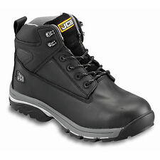 JCB Fast Track New Mens Boot Leather Steel Toe Midsole Waterproof Safety Boots