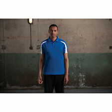 New Awdis Just Cool Contrast Polo Shirt Training Gym Sports Wickable Mens Shirts