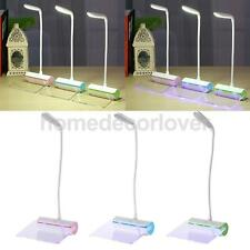 Portable LED Desk Lamp w/ Message Board Adjustable Table Study Eye Protect Lamp