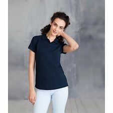 New Kariban Ladies Cotton Pique Polo Shirt Jersey Short Sleeves Vintage T Shirts