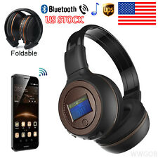 3.0 Stereo Bluetooth Wireless Headset Headphones With Call Microphone Foldable