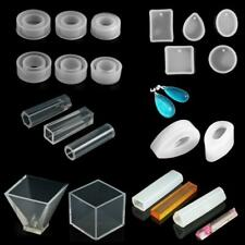 DIY Silicone Pendant Molds Making Jewelry Pendant Resin Casting Mould Craft Tool