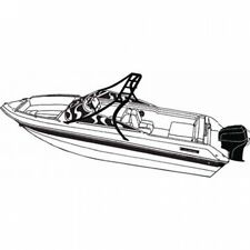 Carver Styled-To-Fit Boat Cover for V-Hull Runabout with Standard Tower. Shippin