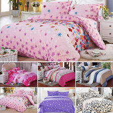 2017 New Duvet Cover with Pillow Case Quilt Cover Bedding Set Single Double King
