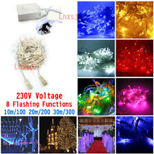 10m20m30m LED Christmas Tree Lights Fairy String XmasParty Wedding IndoorOutdoor