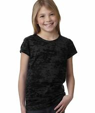 Next Level Apparel 6510 Girl's Princess Poly/Cotton Burnout T-Shirt XS-XL NEW