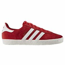 Adidas Gazelle 2.0 Red Youths Trainers