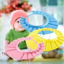 Soft New Kids Shampoo Bathing Hat Shower Cap Wash Hair Shield