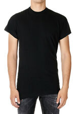 DSQUARED2 Dsquared² New men Black round neck T-shirt tee Cotton Made in Italy