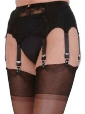 Premier Lingerie 8 Strap Lace Panel Suspender / Garter Belt ( SSL9 )