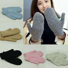 NS Lady's Winter Warm Knit Gloves Soft Warmer Mittens Finger Gloves NEW Fashion