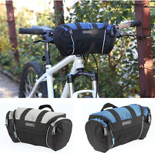 Cycling Bike Bicycle Front Pannier Basket Handlebar Bar Bag Quick Release