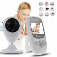 Wireless 2.4GHz Digital Color LCD Baby Monitor Camera Night Vision Audio Video #