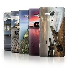 STUFF4 Phone Case/Back Cover for Sony Xperia SP/C5303 /English Seaside