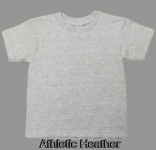 Pacific Sports Toddler Boys Kids 18/1 Crew Neck Athletic Heather 2T & 4T T-Shirt