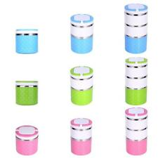 Dots Stainless Steel Thermal Insulated Lunch Box Bento Food Picnic Container