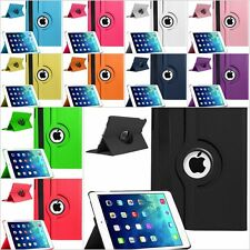 Leather 360 Degree Rotating Smart Stand Case Cover For Apple iPad 2 3 &4