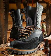 Leather Firefighting Boots Ebay