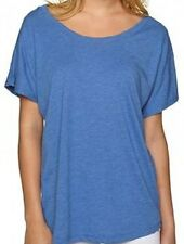 Next Level Womens's TRI-BLEND DOLMAN T-Shirt Vintage Royal